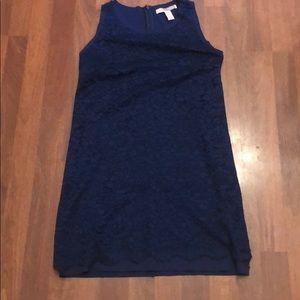 Navy Lace Dress - Size M